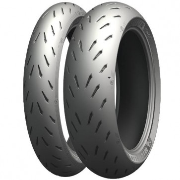 Combo - Pneus Michelin Power RS - 120/70-17 + 200/55-17