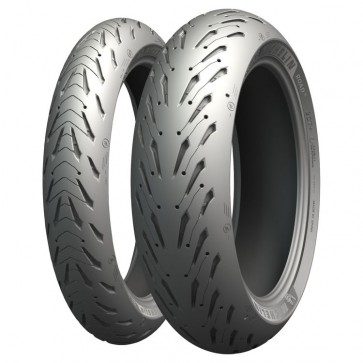 Combo - Pneus Michelin Road 5 - 120/70-17 + 160/60-17