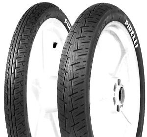 Combo - Pneus Pirelli City Demon 2.75-18 + 130/90-15