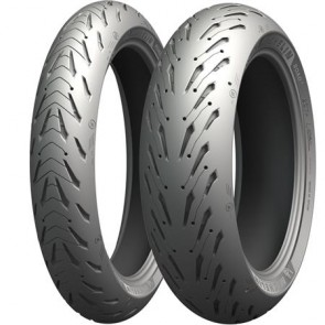 Combo - Pneus Michelin Road 5 - 120/70-17 + 180/55-17