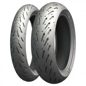 Combo - Pneus Michelin Road 5 - 120/70-17 + 190/50-17